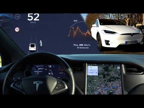 Tesla mise à jour V9, l'autopilot s'améliore encore...et ce n'est pas tout