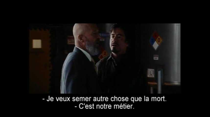 Iron Man - Extrait 19 - VO - (2008)