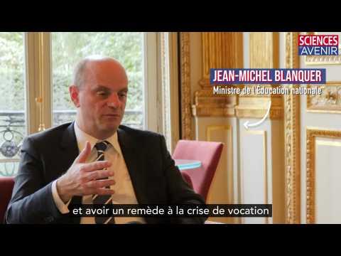 TEASER. Jean-Michel Blanquer et la réforme des professeurs