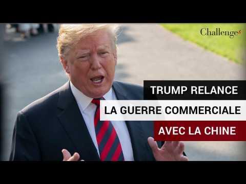 Trump relance la guerre commerciale avec la Chine