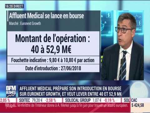 Entreprise du jour: Affluent Medical prépare son introduction en bourse sur Euronext Growth - 18/06