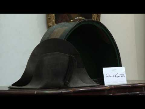 Napoleon's hat from the battlefield of Waterloo up for auction