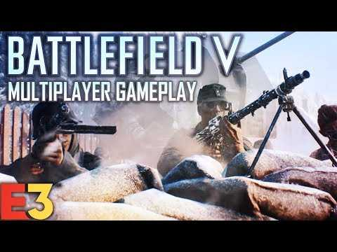 Battlefield 5 Multiplayer Gameplay! | EA Play 2018