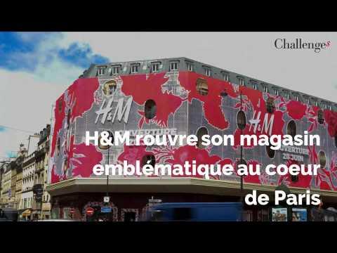 H&M rouvre son magasin emblématique à Paris
