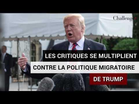Les critiques se multiplient contre la politique migratoire de Trump
