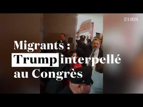 """Trump interpellé au Congrès sur les migrants : """"N'avez-vous pas des enfants ?"""""""