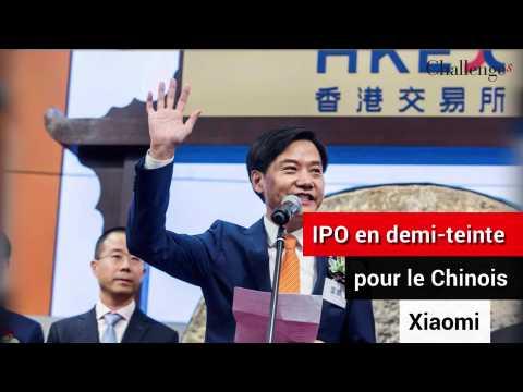Introduction en Bourse en demi-teinte pour le géant chinois Xiaomi