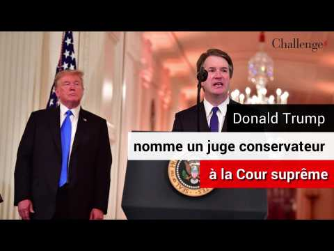 Donald Trump nomme un juge conservateur à la Cour Suprême