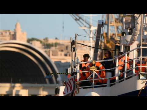 Stranded Migrant Ship Arrives In Malta
