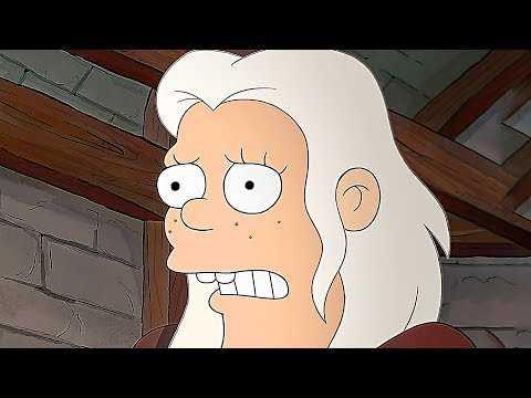 DISENCHANTMENT Trailer Teaser (2018) The Simpsons Creators Animated Netflix Series HD