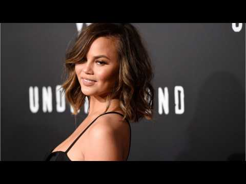 Chrissy Teigen Launches Shimmery Body Oil