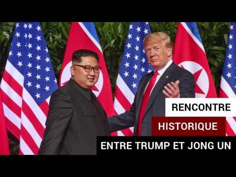 Rencontre historique entre Donald Trump et Kim Jong Un