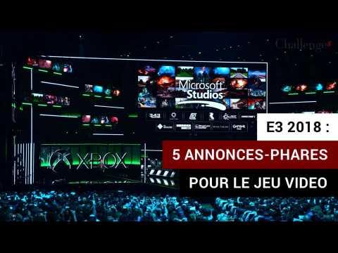 Salon E3 2018: cinq annonces-phares pour le jeu vidéo