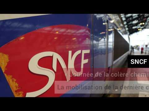 SNCF: «Journée de la colère cheminote», mobilisation de la dernière chance