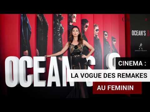 Cinéma: la vogue des remakes au féminin