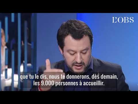 """""""Emmanuel, si ton cœur est si gros, nous te donnons 9.000 migrants"""" : l'Italie réplique à Macron"""