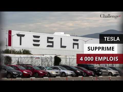 Tesla supprime 4 000 emplois