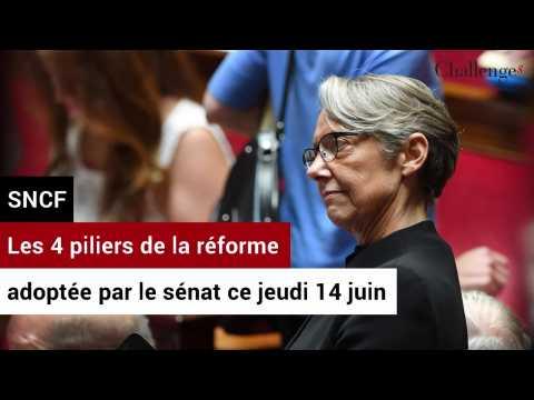 SNCF: Les 4 piliers de la réforme adoptée par le sénat ce jeudi 14 juin
