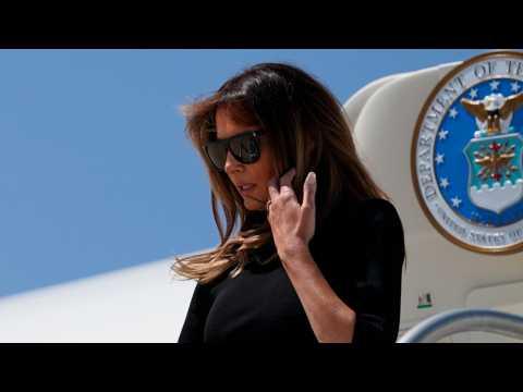 Melania Trump Heads To Arizona Customs Facility