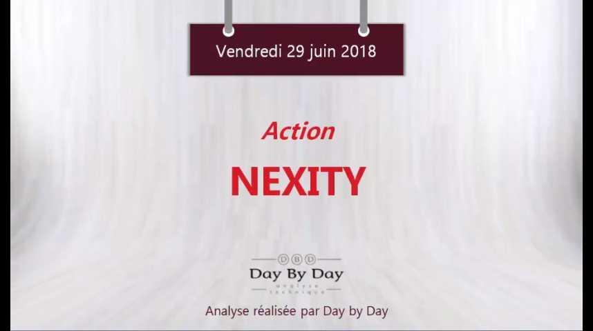 Illustration pour la vidéo Action Nexity : nouveaux records historiques - Flash analyse IG 29.06.2018