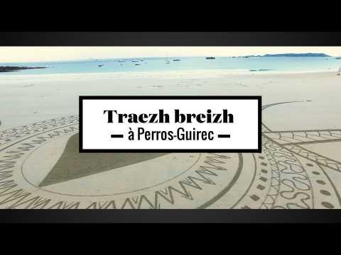 2 minutes de survol du Traezh Breizh à Perros-Guirrec