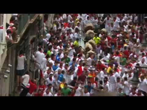 Spain's San Fermin bull running festival kicks off in Pamplona