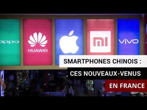 Smartphones chinois: ces nouveaux-venus en France
