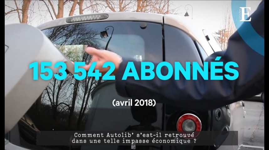 Illustration pour la vidéo Autolib' : sous le capot, les raisons d'un fiasco