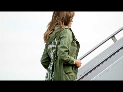 Melania flew to Texas to visit immigrant children wearing a jacket that says 'I really don't care, do u?'