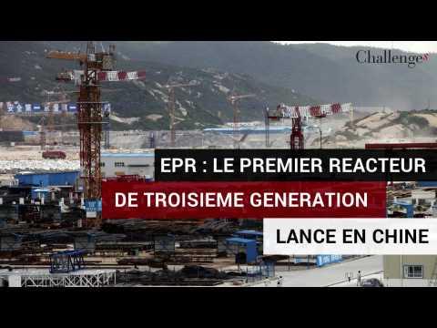 Nucléaire: le premier EPR de troisième génération lancé en Chine