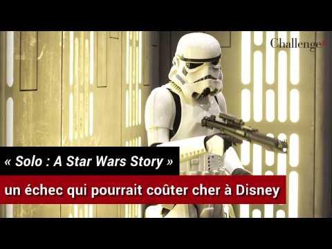 """""""Solo: A Star Wars Story"""": un échec qui pourrait coûter cher à Disney"""