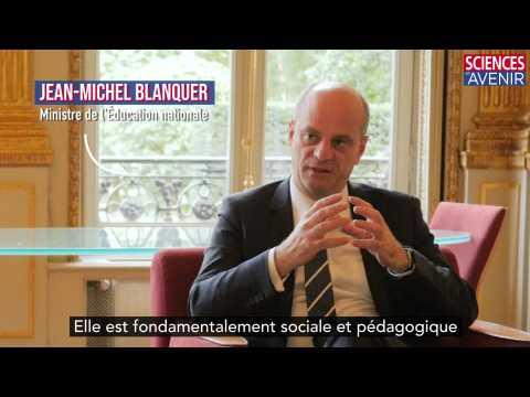 """""""La mesure sociale par excellence"""" selon Jean-Michel Blanquer"""