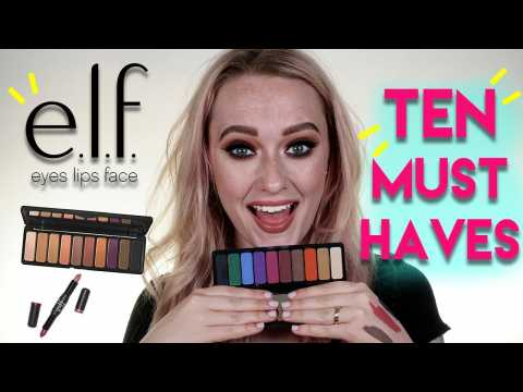 10 MUST HAVE E.L.F. Products | Jkissamakeup