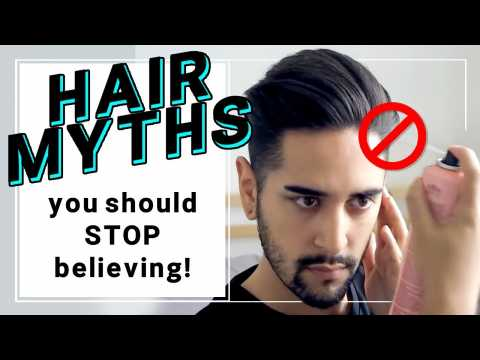Hair Myths You Should Stop Believing! Hair Products And Hair Loss / Heat Damage + More  James Welsh