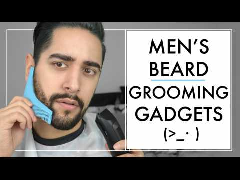 Testing Beard Grooming Tools / Gadgets  For Men - How To Trim & Shape A Beard   James Welsh