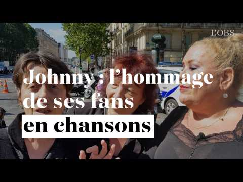 Anniversaire de Johnny : l'hommage touchant (et très inégal) de ses fans en chansons