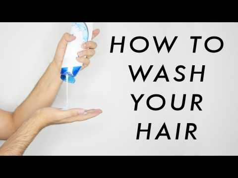 How To Correctly Wash Your Hair - Prevent Hair Fall - Healthier Looking Hair     James Welsh