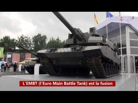 Découvez l'EMBT, le char franco-allemand de Nexter et KMW