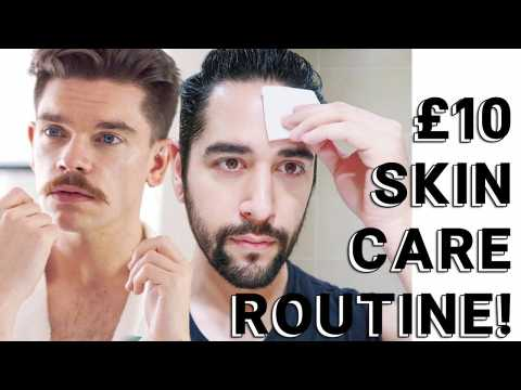 Skincare Routine For £10 Challenge FT Robin James - Men's Grooming Routine  James Welsh