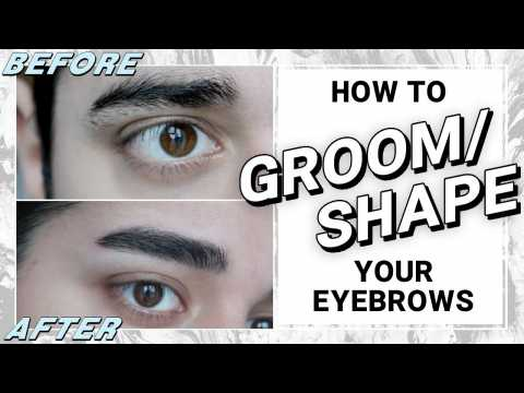 Eyebrow Grooming For Men - How To Shape Your Own Brows  James Welsh