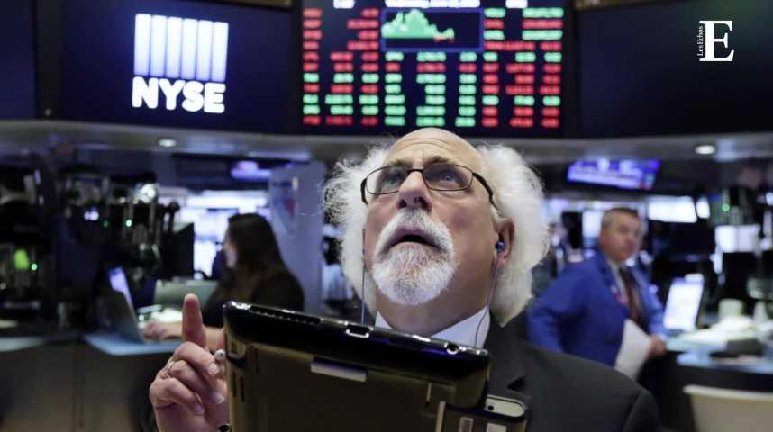 Illustration pour la vidéo Wall street : le graphique qui fait peur aux marchés financiers