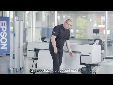 Školicí video ktiskárně Epson SureColor SC-P20000