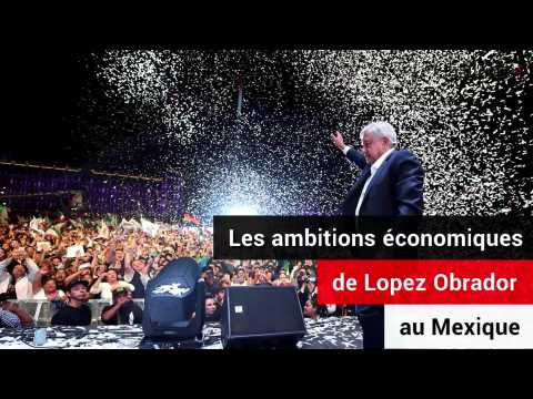 Les ambitions économiques de Manuel López Obrador au Mexique