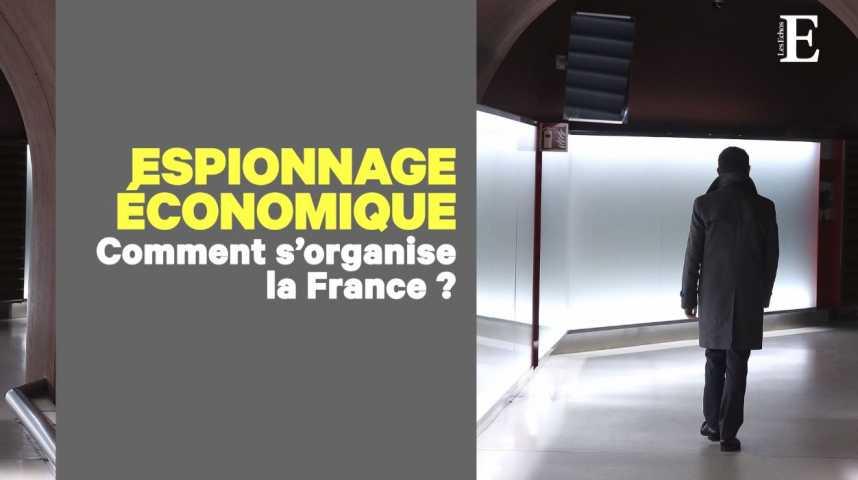 Illustration pour la vidéo Espionnage économique : la France en retard