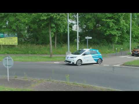 2018 Rouen Normandy Autonomous Lab Driving video