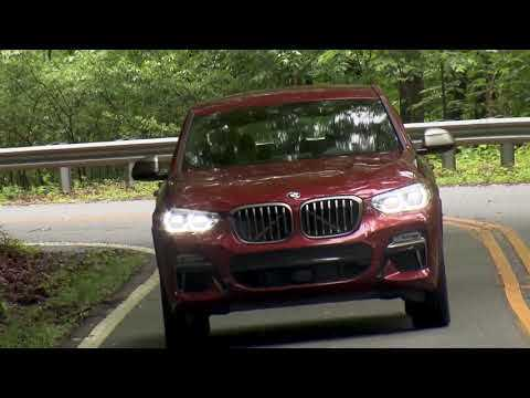 The new BMW X4 M40d  Country Road Driving Video