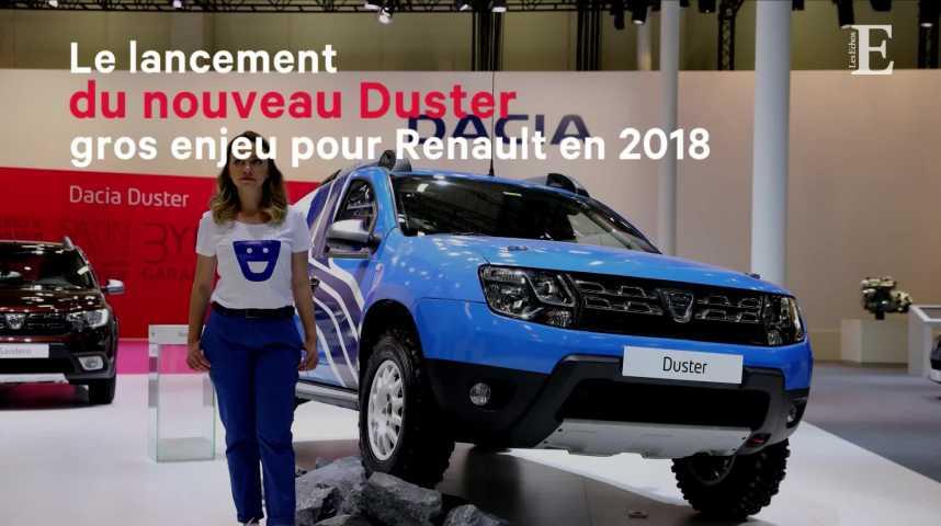 Illustration pour la vidéo Le lancement du nouveau Duster, gros enjeu pour Renault en 2018