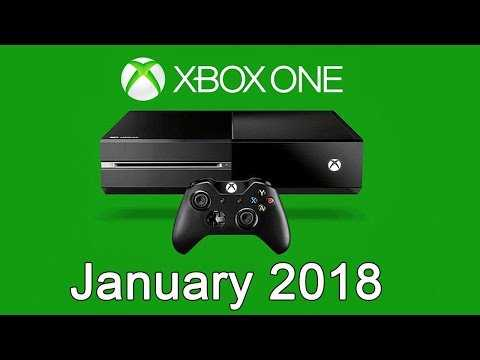 XBOX ONE Free Games - January 2018