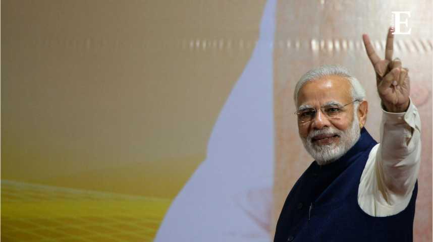 Illustration pour la vidéo Inde : cinquième puissance économique mondiale en 2018