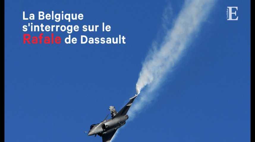 Illustration pour la vidéo La Belgique s'interroge sur le Rafale de Dassault
